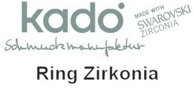 Kado--Diamond, Ring, Zirkonia--Onlineshop